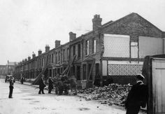Paxton Road being Demolished
