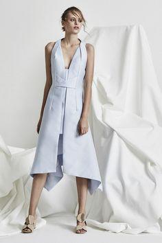 Acler Leighton Dress Wedgewood - Niki Belle