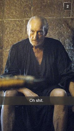 Tywin Lannister (la main du roi Joffrey son petit fils) - Game Of Thrones George Rr Martin, Daenerys Targaryen, Cersei Lannister, Valar Morghulis, Best Tv Shows, Favorite Tv Shows, Charles Dance, Game Of Thrones Funny, Game Thrones