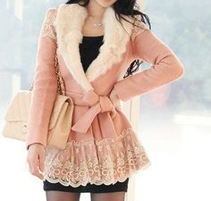 Feminine Romantic Clothing | ... Fashion-2013-Womens-Clothing-South-Korea-romantic-font-b-feminine-b