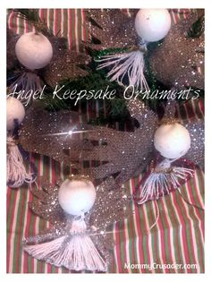 Angel Keepsake Ornaments | MommyCrusader.com The Ultimate Party Week 27