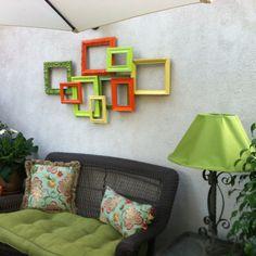 Fun Outdoor Wall Art !!! ☀