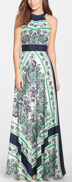 Stitch Fix - Love this dress as is or even as a V neck. Super cute maxi! http://rstyle.me/n/v6zgwn2bn