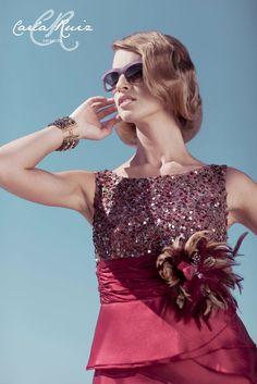 Detalle Vestido de Madrina de Carla Ruiz 2012 - Modelo 86349