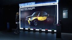 In July 2012 MINI commissioned us with an interactive exhibit to 'enable the visitor to feel and experience the brand values of MINI'. Two months later,… Exhibition Booth Design, Exhibition Space, Car Painting, Body Painting, Paint Games, Car Workshop, Paint Buckets, Interactive Installation, Projection Mapping