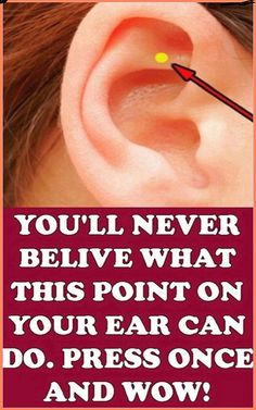 This Is What Happens When You Massage This Point On Your Ear
