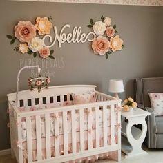 Items similar to 8 Piece Paper Flowers Set Flower Nursery, Boho Nursery, Nursery Wall Decor, Baby Decor, Nursery Room, Girl Nursery, Girl Room, Nursery Ideas, Garden Nursery