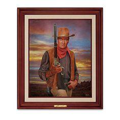 John Wayne: Legend Of The West Wall Decor