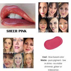 Sheer Pink - pink. www.senegence.com - Distributor ID# 255261 email me: jessicaedmonson@gmail.com 720-884-6457 www.facebook.com/groups/JessicasKissThis IG: JessicasKissThis