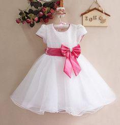 Vestido para niñas con patrones