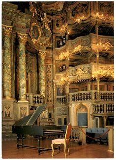 Markgräfliches Opernhaus or Margravial Opera House, Bayreuth, Germany