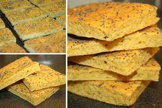 Ingredienser:  50 g bakepro  75g finmalte frø*  2 ss fiberhusk  1 ts bakepulver  1 ts salt  100 g revet ost  4 egg  100 g creme fraiche  ...
