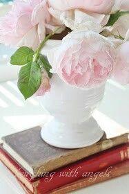 Flowers & good books