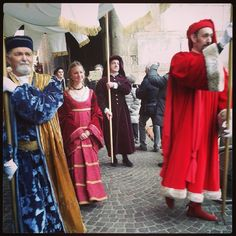 Carnevale Rinascimentale a Ferrara #RinasciFE2014 - Instagram foto di aureoladifumo