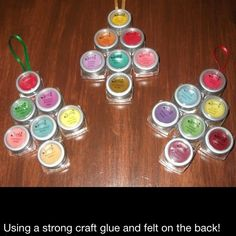 Use old sample pack an use gorilla glue an make a scentsy ornament!