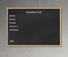 Pure CSS3 Blackboard Chalkboard Contact Form, #Blackboard, #Chalkboard, #Code, #CSS, #CSS3, #Form, #HTML, #HTML5, #Resource, #Snippets, #Web #Design, #Development