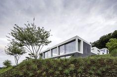 Vier Hofhäuser bilden eine Siedlungsform | Think Architecture ©Radeck Brunecky, Zürich