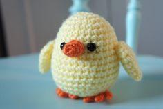 Easter idea - crochet chick pattern