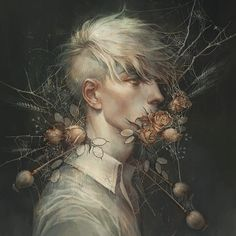 Dark, Fantasy, and Surreal Artwork from Deviant Artists Cool Animes, Arte Obscura, Drawn Art, Boy Art, Art Graphique, Pretty Art, Aesthetic Art, Art Inspo, Art Reference