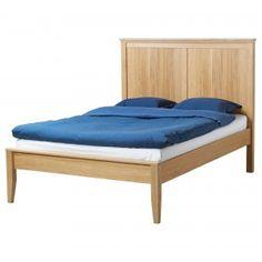 Ikea metallbett schwarz 90x200  Bett Oskar (200 x 200 cm, Eiche, geölt)