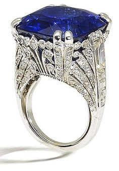 Style Ornate sapphire and fashion love