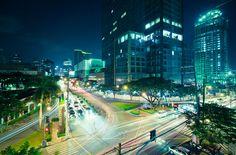 manila / makati at night                                                       …