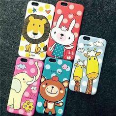 可愛い動物マット素材iPhone6s/6s Plusハードケース http://i-case.top/products/iphone6s/case-93.html