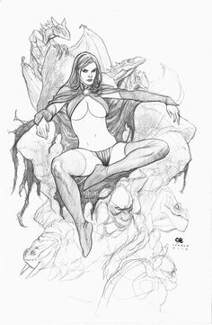 The Goblin Queen by Frank Cho *