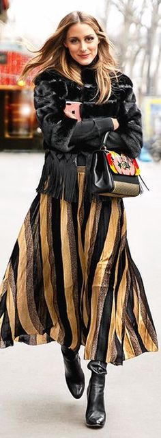 Olivia Palermo wearing the National Flag of Puke-a-stan ! :(