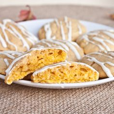 Pumpkin Cream Cheese Cookies.