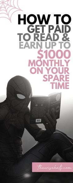 Here's an awesome side hustle this summer. How would you like to get paid to read books? Audio books actually. This legit company can make this side hustle idea into a passive income. Earn extra cash now and turn it passive tomorrow. - Earn Money at home Earn Money From Home, Earn Money Online, Online Jobs, Way To Make Money, Earning Money, Money Fast, Work From Home Careers, Work From Home Opportunities, Earn Extra Cash