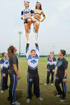 Top gun and cheer athletics ;)