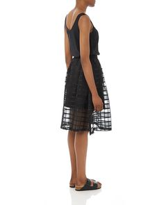 Lucy & Co. Organza Middy Skirt - Atterley Road