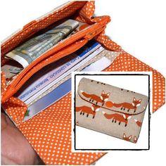 Portefeuille Renard, Portefeuille femme : Porte-monnaie, portefeuilles par driworks