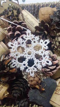 Tatting pattern Snowflake by Decoromana