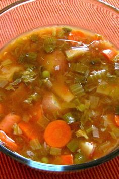 Tomato Spinach Slow Cooker Soup – Weight Watchers (1 Point)