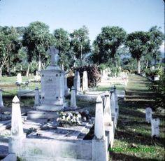 Isla de Fernando Poo.Sta. Isabel. Cementerio.