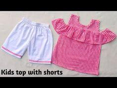 Kids Frocks Design, Baby Frocks Designs, Baby Dress Design, Frock Design, Baby Dress Patterns, Sewing Patterns, New Kurti Designs, Baby Skirt, Baby Dresses