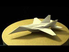 (1) Advanced Origami F-18 Hornet by: Ken Hmoob - YouTube