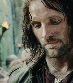 The Lord of the Rings : The Two Towers - Aragorn ( aka Viggo Mortensen ) Thranduil, Legolas, Aragorn Lotr, Arwen, Fellowship Of The Ring, Lord Of The Rings, Jackson, J. R. R. Tolkien, Viggo Mortensen