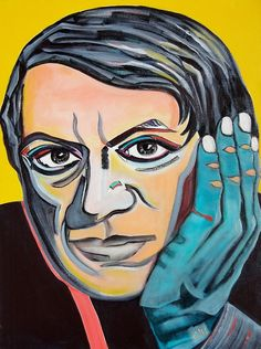 Portrait of Picasso, Picasso's hand .. • Buy this artwork on apparel, stickers, phone cases, and more.