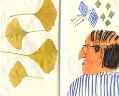 Maira Kalman and the Pursuit of Happiness- sketchbook