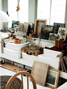 studio :: organized mess