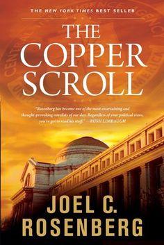 The Copper Scroll (Political Thrillers Series #4) by Joel C. Rosenberg, http://www.amazon.com/dp/1414303475/ref=cm_sw_r_pi_dp_3Qxlrb04E0HHB