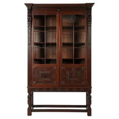 george iii style mahogany bookcase deep rich wood color with