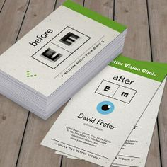 Make Your Own Eye business card