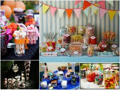 Wedding favors - candy bar! With all the wedding party's fav candy. def doing this!