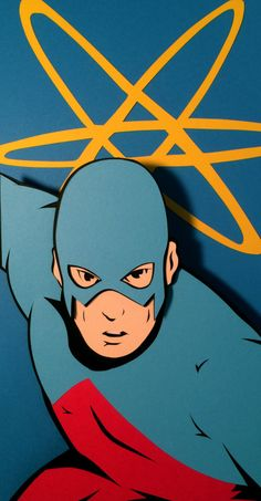 The Atom Paper Cut-Out - DocGold13