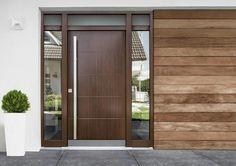 128 mejores im genes de puertas principales puertas - Puertas exteriores modernas ...