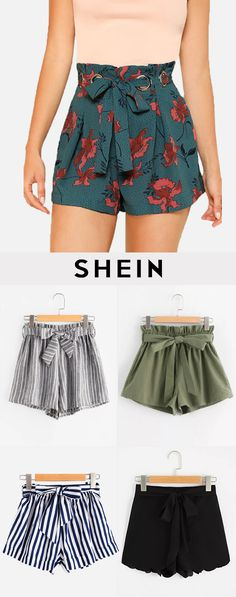 Simple Summer to Spring Outfits to Try in 2019 – Prettyinso Short Outfits, Trendy Outfits, Summer Outfits, Cute Outfits, Fashion Outfits, Womens Fashion, Style Fashion, Diy Vetement, Cute Shorts